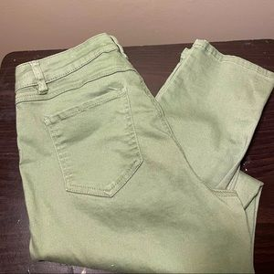 d. Jeans Mint Green Jeans Size 10